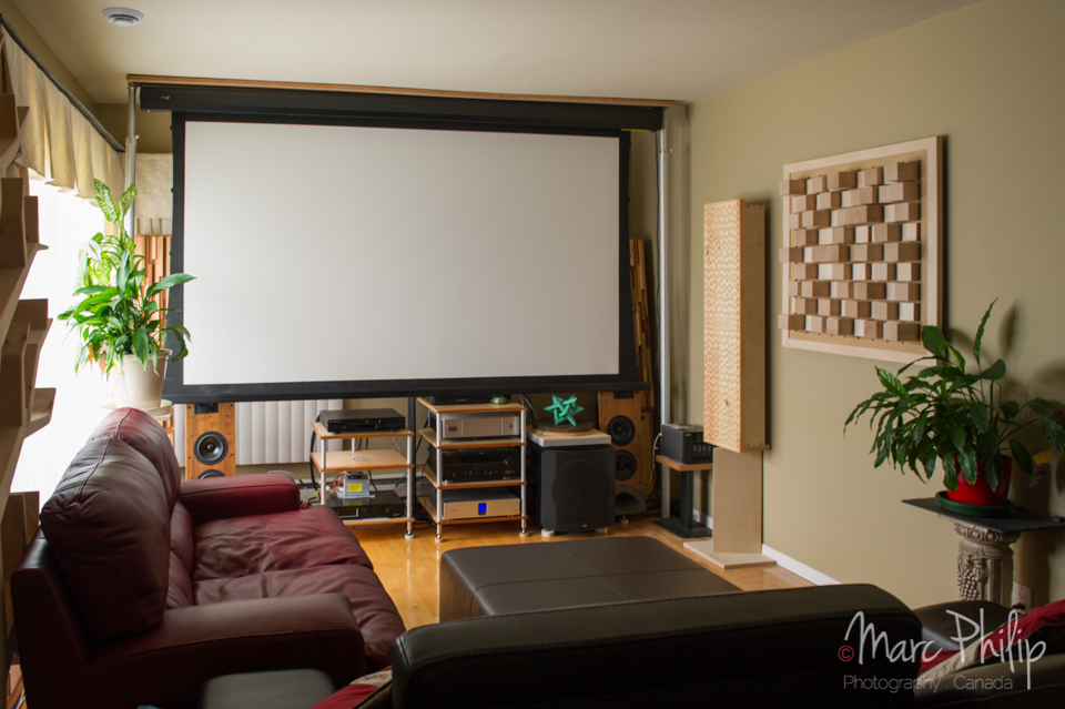 hauteur hp home cinema