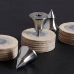 Pointes inox et contre-pointes à 3 matériaux